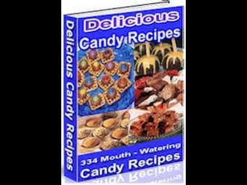 """Candy Recipes"" Cook Book (Master Resale Rights Package)"