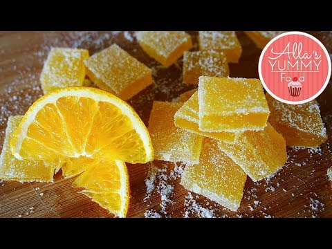 Russian Lemon Candy Recipe | Marmelad Recipe | Mармелад