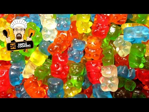 HOW TO MAKE GUMMY BEARS