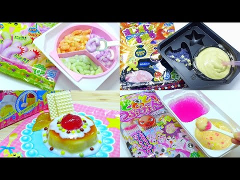 Kracie Japanese DIY Candy Kit Compilation [ASMR]