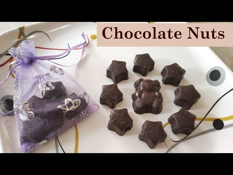 Chocolate Nut   Healthy Chocolate Candy   Homemade Chocolate Recipes 