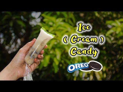 How to make Oreo Ice Candy like Ice Cream Recipe