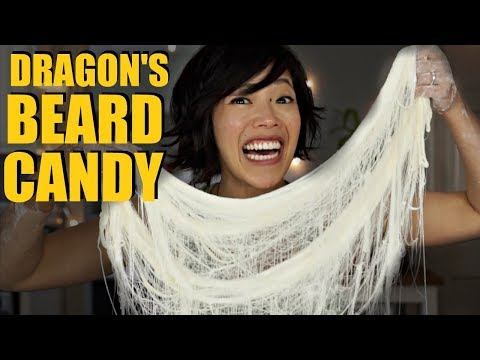 DRAGON'S BEARD CANDY Hand-pulled Cotton Candy Recipe – FAILS Included!