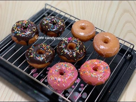 How to make donut 🍩 នំដូរណាត់-by Love candy recipe