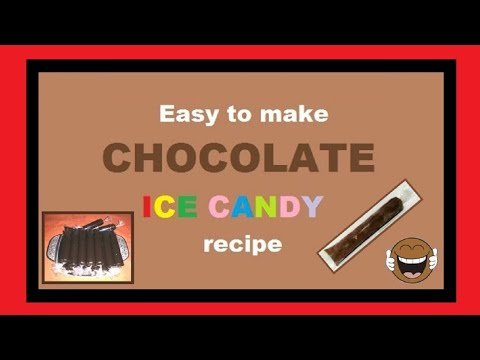 CHOCOLATE ICE CANDY budget recipe for small business