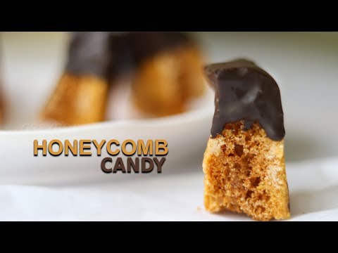 2 Ingredient Honeycomb Candy Recipe | Cinder Toffee Recipe | Hokey Pokey