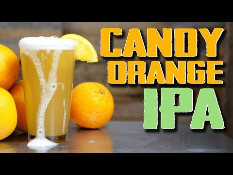 Candy Orange IPA Homebrew Recipe (Hazy, Juicy, Awesome)
