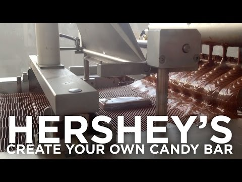 Create Your Own Candy Bar at Hershey's Chocolate World