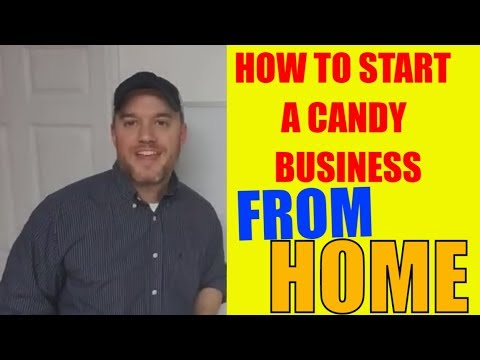 How to start a candy business from home Selling Locally first before online