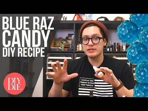Let's Mix: Simple Blue Raz Candy (DIY E-liquid Recipes)