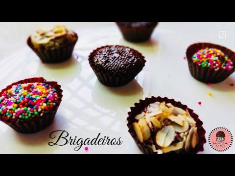 Brigadeiros | Chocolate Fudge Candy | Brazilian candy recipe