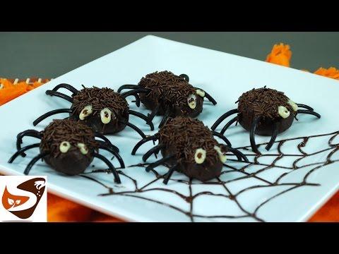 Dolci di Halloween: ragnetti per bambini – ricette dolci (Halloween candy recipes )