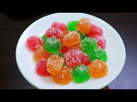 നമ്മുടെ സ്വന്തം ജെല്ലി മിട്ടായി ഇനി വീട്ടിൽ തയ്യാറാക്കാം…  || Jelly candy recipe || Sweet