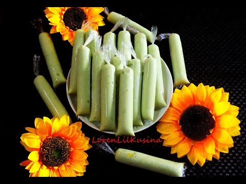 ICE CANDY AVOCADO with Cornstarch Recipe
