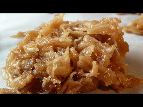 Bukayo  ( Coconut Candy )  Coconut Brittle  ( Filipino dessert recipe that makes you want more!)