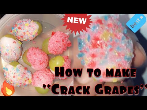 How to make Candy Grapes | crack grapes tutorial | my own version