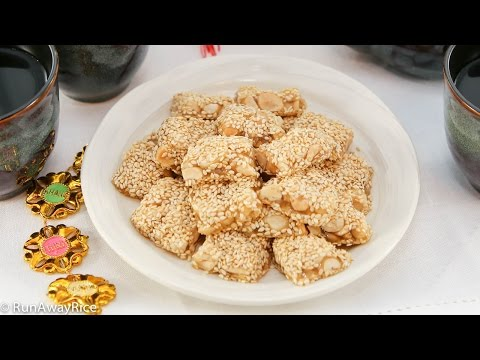 Chewy Sesame Peanut Candy (Keo Me Dau Phong)