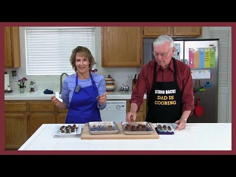 Chocolate Covered Orange Apricot Balls! An Easy, Healthy Candy Recipe!