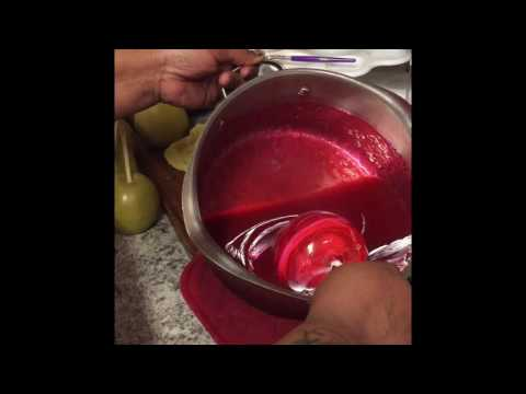 Making Candy Apples🍎 From Beginning To End!!