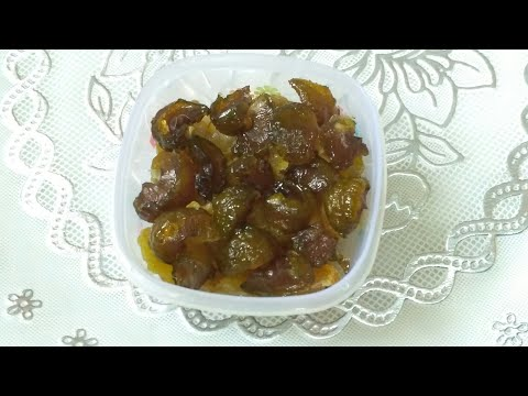 Honey Amla candy recipe it's good for health (specially children likes a lot)