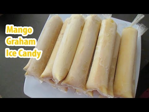 Mango Graham Ice Candy