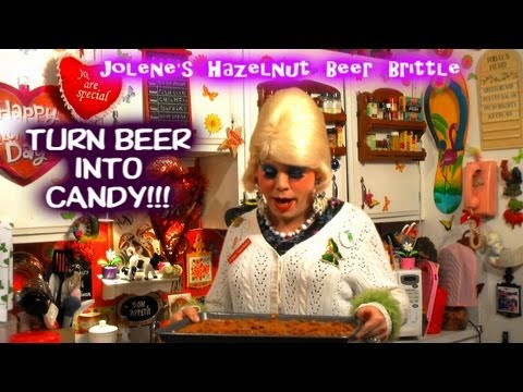 Hazelnut Beer Brittle : Trailer Park Valentine's Day Candy Recipe
