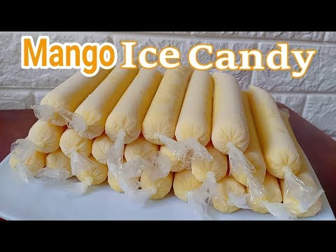 Mango Ice Candy Recipe I How to make Mango Ice Candy
