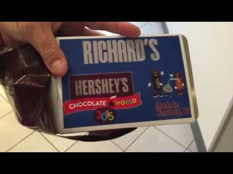 Create Your Own Candy Bar Reviews – Hershey's Chocolate World Create Your Own Candy Bar Review