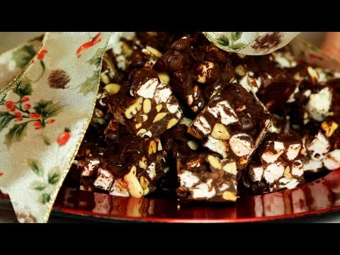 HOW TO MAKE ROCKY ROAD CANDY