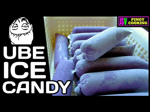 AMAZING UBE ICE CANDY Parang ice cream lang.