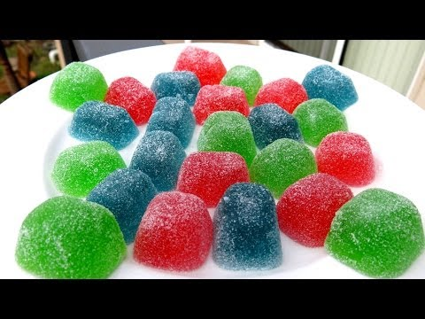 HOW TO MAKE GUMDROPS – HOMEMADE DIY RECIPE