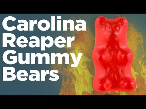 DIY Spicy Gummy Peppers – The Worlds hottest Gummy Candy recipe!