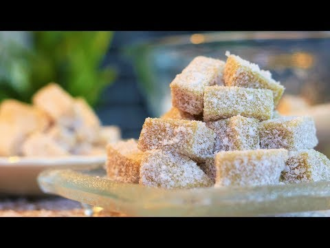 EASY DESSERT RECIPES – Soft Ginger Candy Chews (Chinese) [ 姜汁软糖]