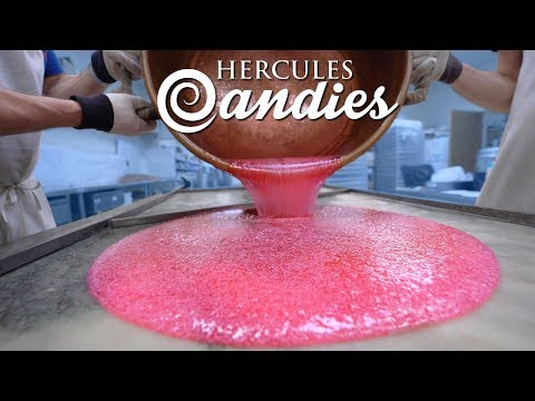 How It's Made: Watermelon Hard Candy