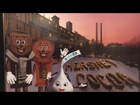 Hershey's chocolate world -make your own candy