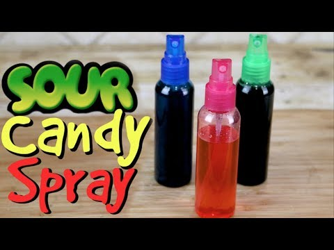 Sour Candy Spray Live | FunFoods