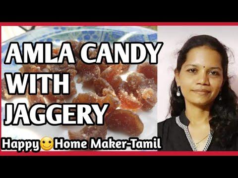 Amla Candy with Jaggery in Tamil |Vella Nellikkai Mittai