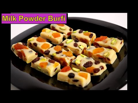Diwali special | Milk Powder Burfi Recipe | Milk Powder Candy Recipes