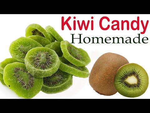 Homemade healthy kiwi candy  How to make kiwi candy  घर पे बनायें आसानी से कीवी कैंडी Easy to make