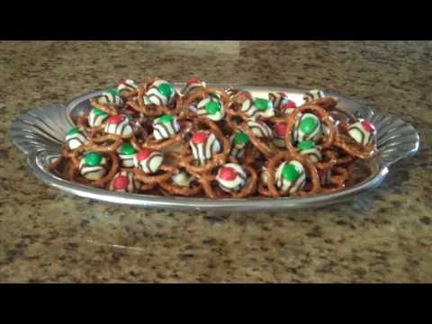 Holiday Pretzel Treats – Lynn's Recipes