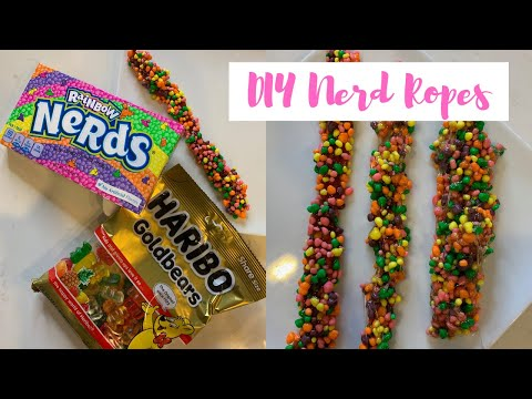DIY Nerd Ropes Candy