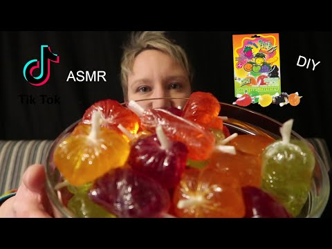 ASMR ~ Viral TikTok Fruit Jelly Candy ~ DIY Make Your Own In The UK