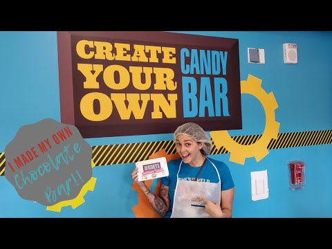 I Made My Own Candy Bar at Hershey's Chocolate World!