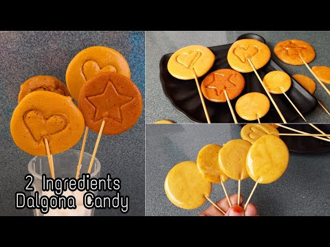 2 Ingredients Dalgona Candy | Korean Sponge Candy Recipe in Tamil | Mehu's Kitchen