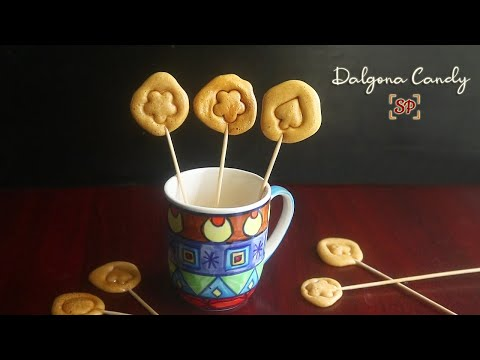 Dalgona candy recipe | Korean sponge candy recipe(Just 2 ingredients)