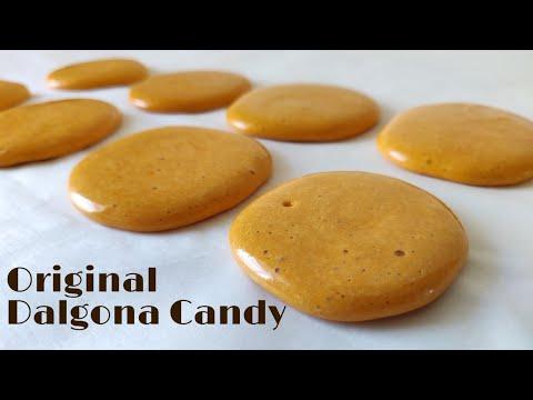 ORIGINAL DALGONA RECIPE | Korean Dalgona Candy That Started Dalgona Coffee Trend | Sugar Candy