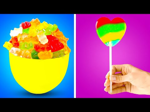 Simple Tips to Make SWEETS at Home || Homemade Candy Recipes You Would Like to Try!
