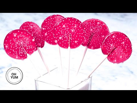 Professional Baker Teaches You How To Make LOLLIPOPS!