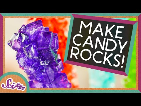 Make Your Own Rock Candy!
