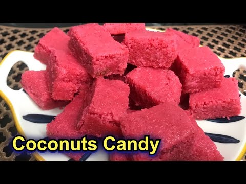 Deepavali special sweet recipe| COCONUT CANDY|Diwali 2020
